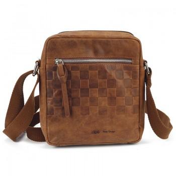 Pánska kožená taška cez rameno (KT33)