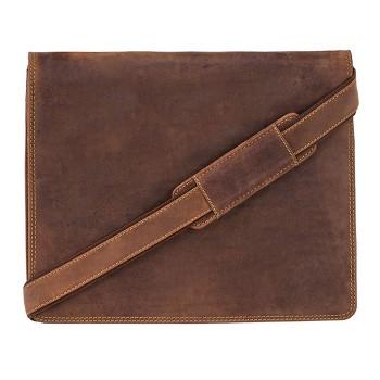 Značková kožená taška (KT47)