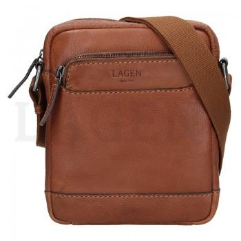 Pánska kožená taška cez rameno (GT63)