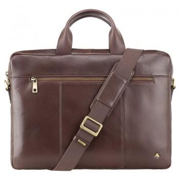 Značková kožená taška (KT95)